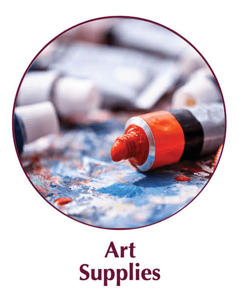 art supplies at tipperary print and design